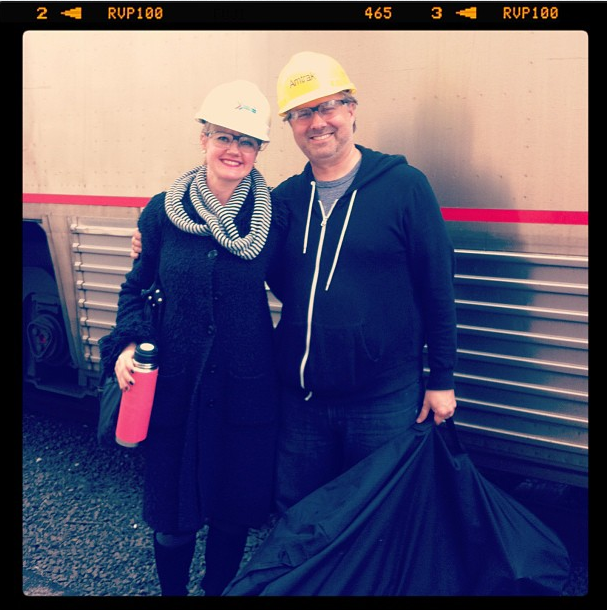 Amtrak shoot