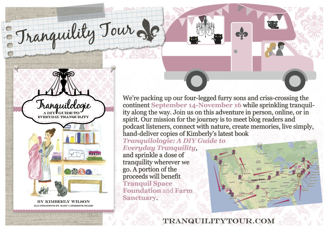 Tranquility Tour Card