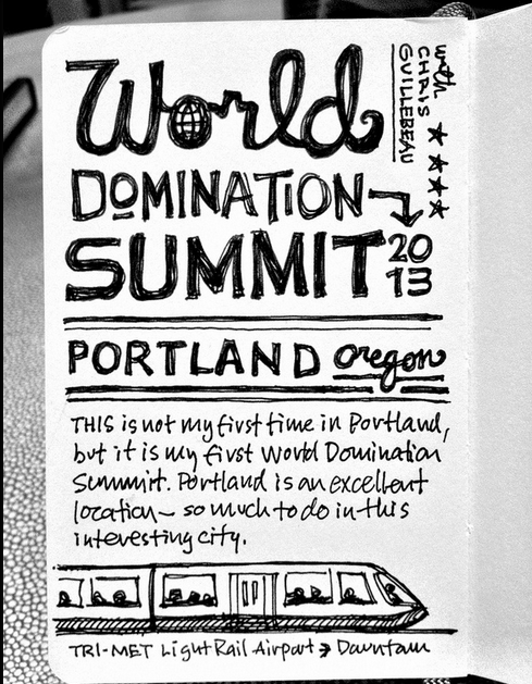 WDS 2013 sketchnotes and the trip in by Mike Rhode. Amazing work!