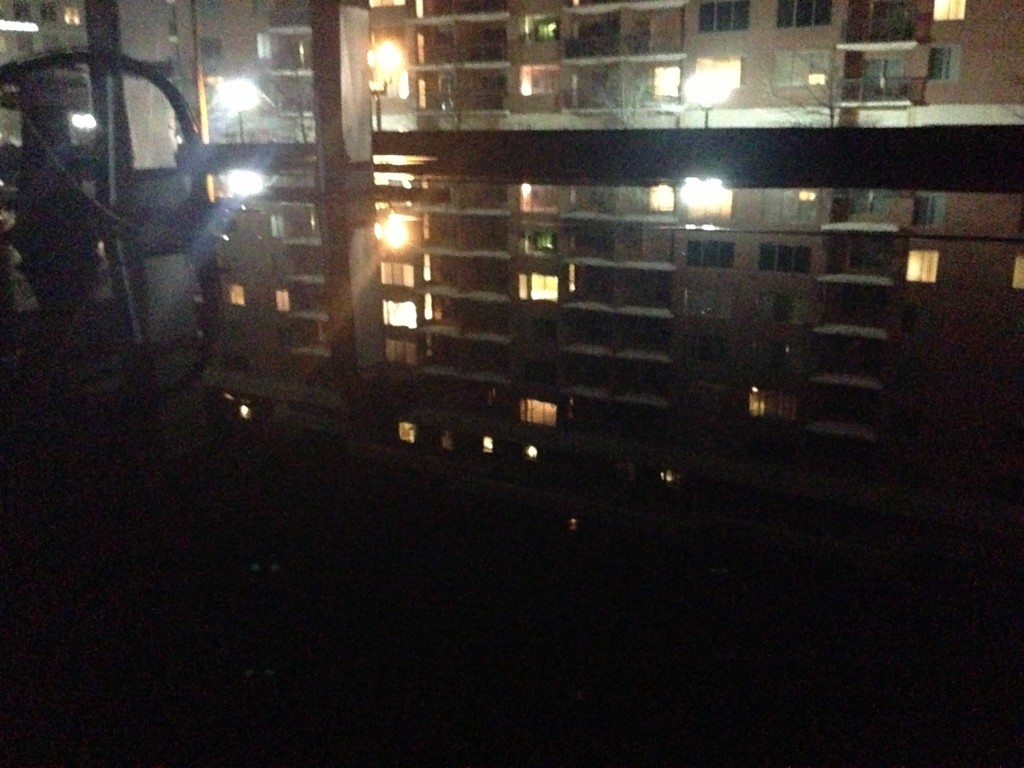 Roof flood
